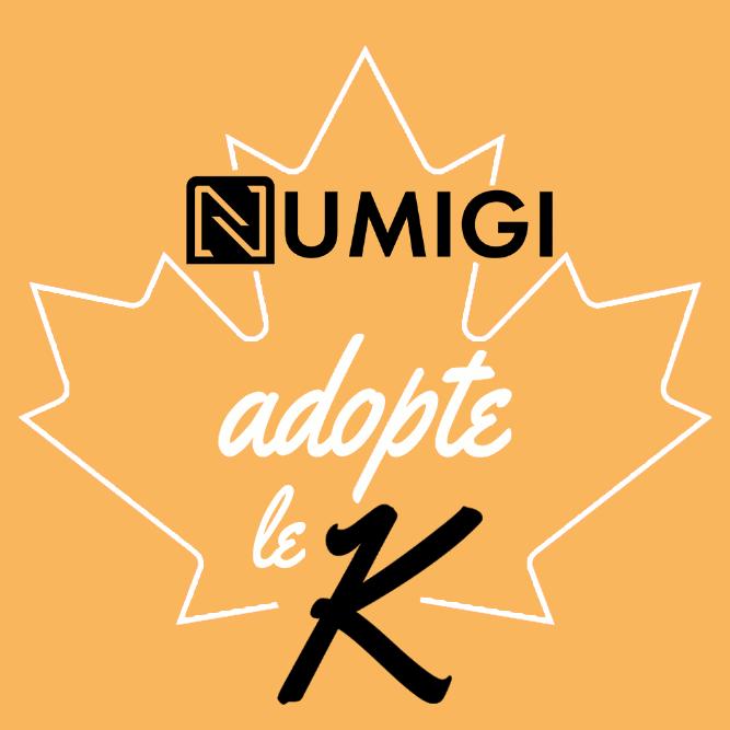numigi adopte le K