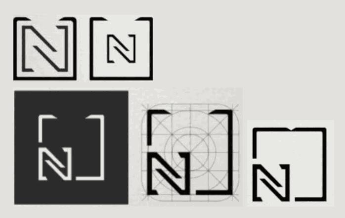 Numigi : esquisses du logo